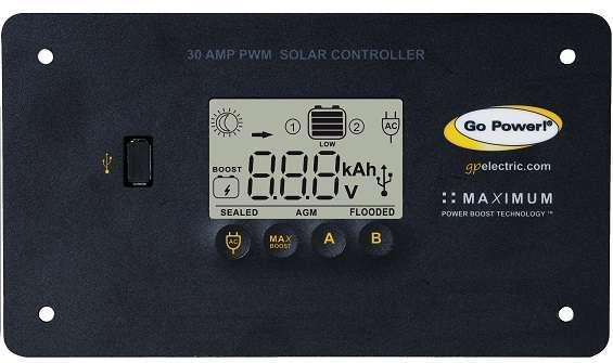 30 amp PWM Solar Controller
