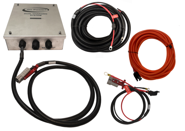 Dual Charging Kit components