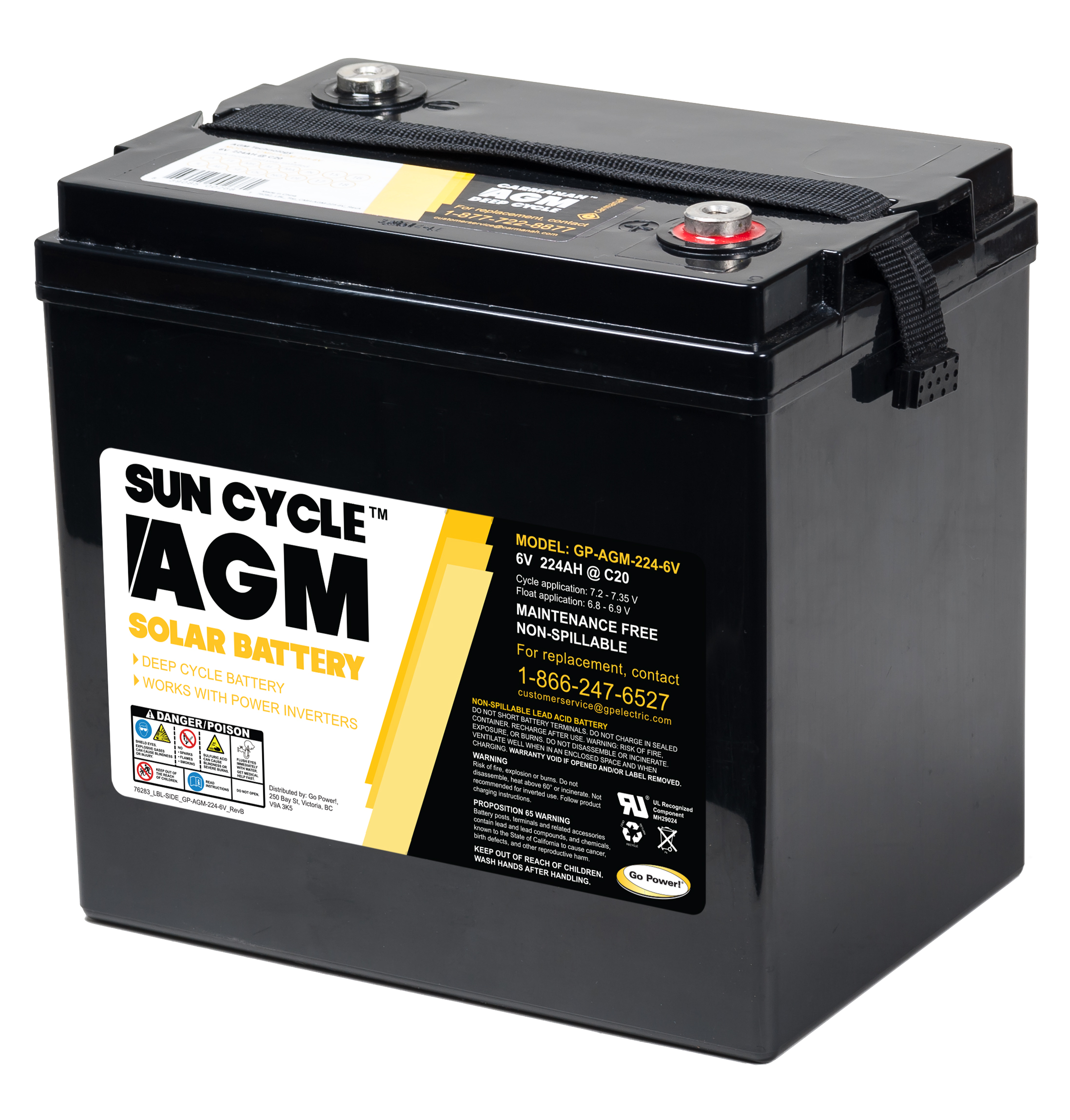 AGM 6v battery