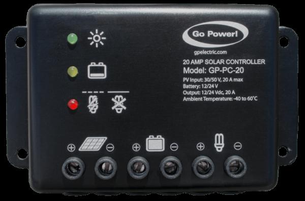 PC-20 amp solar controller