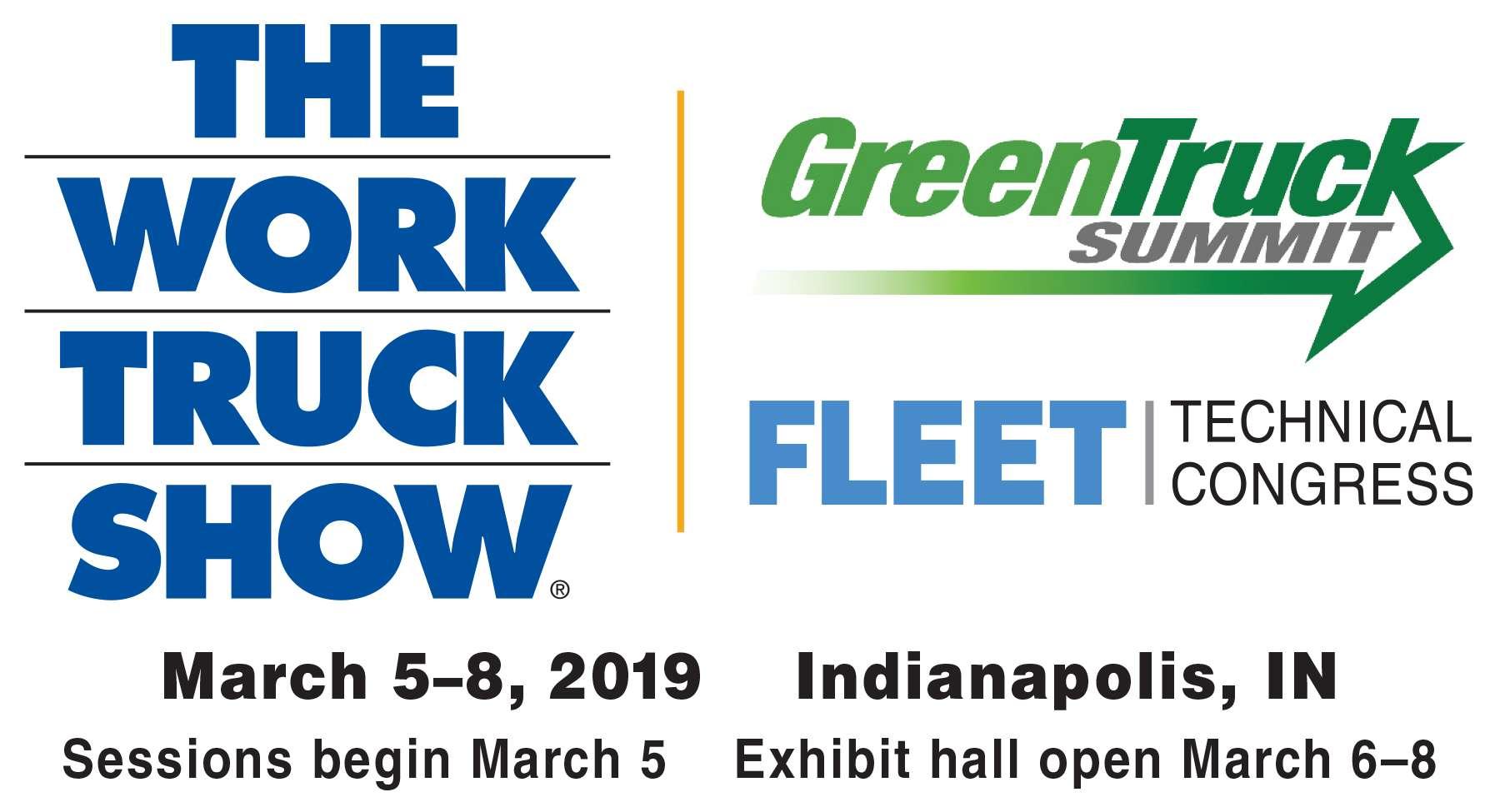 work truck show logo 2019