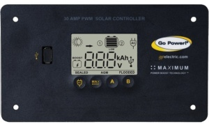 30 amp PWM solr controller